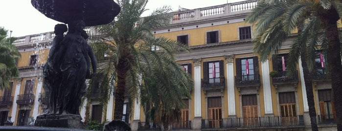 Plaza Real is one of Barcelona City Guide.