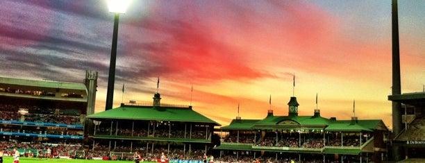 Sydney Cricket Ground is one of Sydney, NSW.