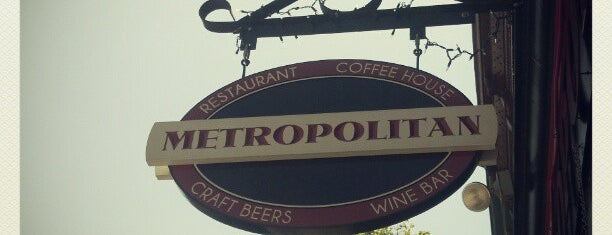 Metropolitan Coffeehouse & Wine Bar is one of Coffee & Cafe's.