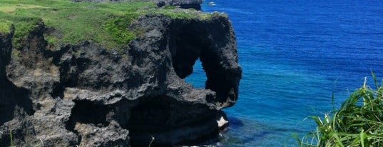 Cape Manzamo is one of Japan/Okinawa.