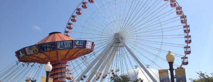 Ferris Wheel at Navy Pier is one of The Crowe Footsteps.