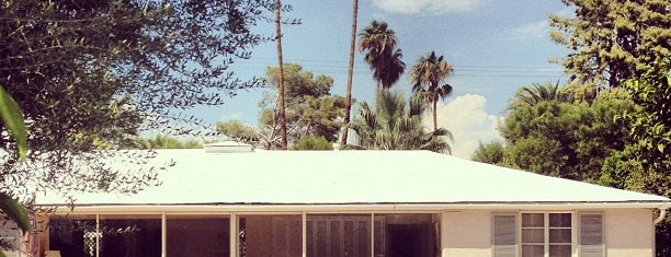 Bob Hope's House is one of Palm Springs.