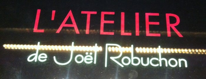 L'Atelier de Joël Robuchon is one of Vegas.