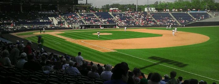 Coolray Field is one of Baseball Stadiums in U.S.A..