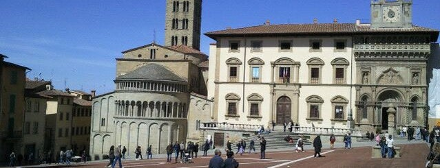 Piazza Grande is one of Arezzo.