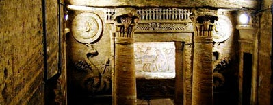Catacombs of Kom El Shoqafa is one of wonders of the world.