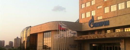 БЦ «Газпром энергодом» (Gazprom) is one of Офисы, в которых можно подписаться на фрукты (ч.2).