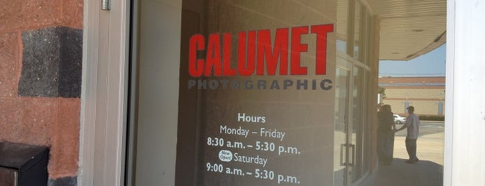 Calumet Photo is one of Lugares favoritos de Christopher.