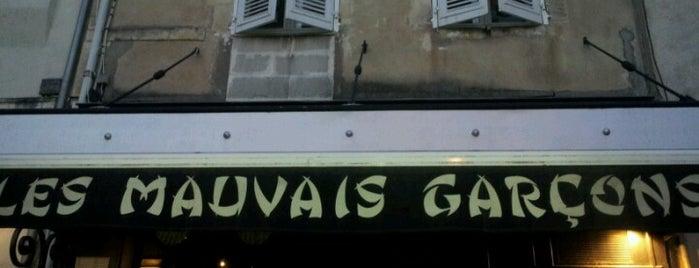 Les Mauvais Garçons is one of สถานที่ที่บันทึกไว้ของ Chrln.