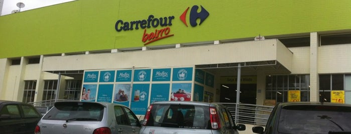Carrefour is one of Orte, die Mateus gefallen.
