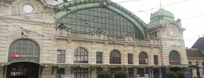 Bahnhof Basel SBB is one of The #AmazingRace 22 map.