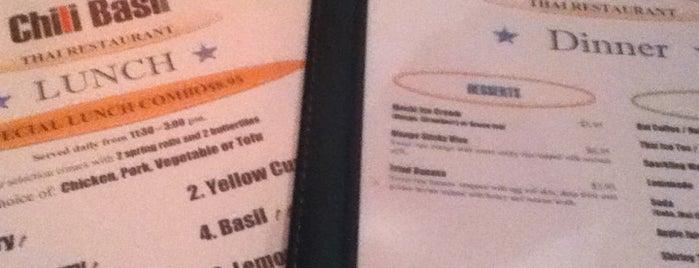Chili Basil Thai Restaurant is one of Lisa: сохраненные места.