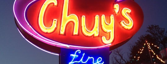 Chuy's is one of Eat here someday.