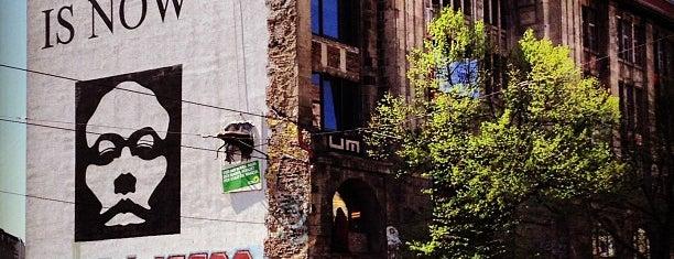 Tacheles is one of Berlin Arty.