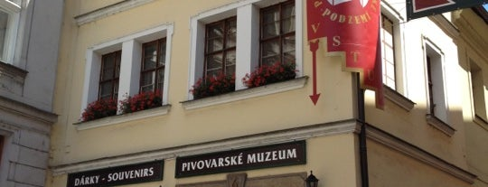 Pivovarské muzeum is one of Orte, die Денис gefallen.