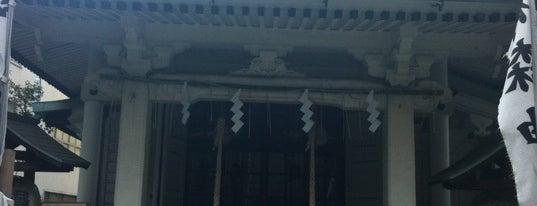 椙森神社 is one of 御朱印頂いた寺社.