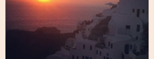 Oia is one of Romance in Santorini.
