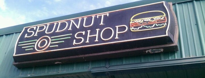 Spudnut Shop is one of Best Places to Check out in United States Pt 4.