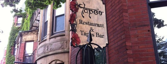 Tapeo Restaurant and Tapas Bar is one of Boston To Do.