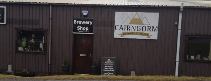 Cairngorm Brewery is one of Scotland.