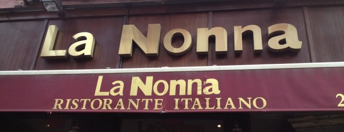 La Nonna is one of Must try Pizza and Italian places.