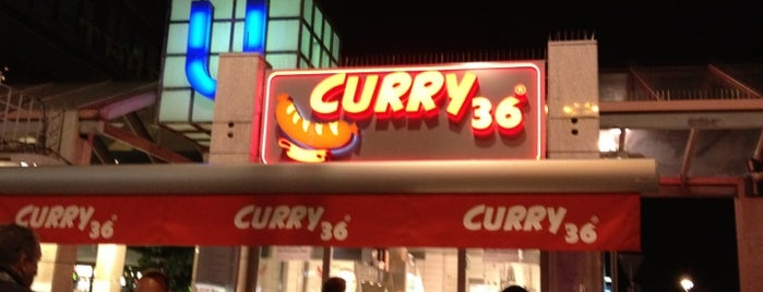 Curry 36 is one of Lieux qui ont plu à Jens.