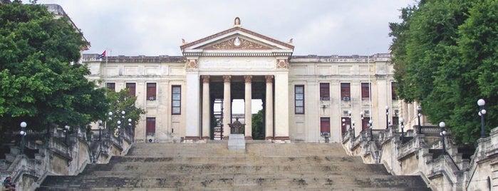 Universidad de la Habana is one of Havana.