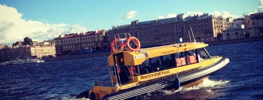 Аквабус: Арсенальная набережная is one of Водить приезжих.