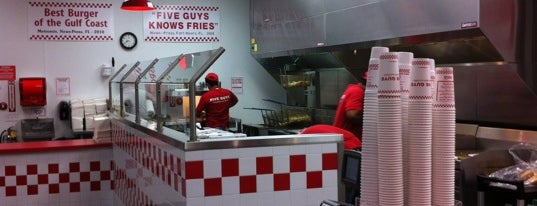 Five Guys is one of Sarasota.