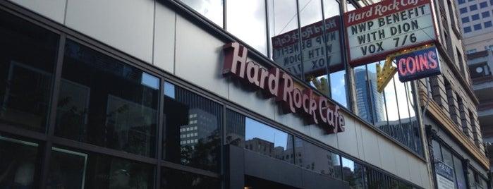 Hard Rock Cafe Seattle is one of Hard Rock Cafes I've Visited.