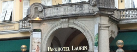 Parkhotel Laurin is one of Cafes in Bozen.