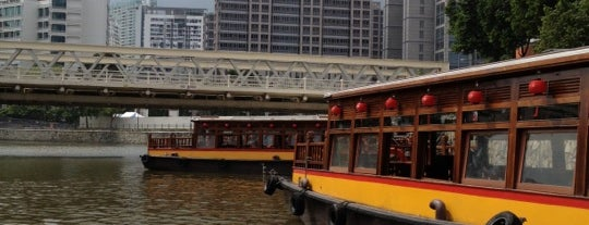 Singapore River Cruise is one of Singapore: business while travelling.