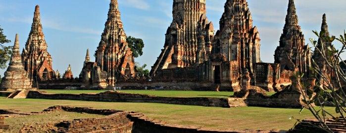 Wat Chai Watthanaram is one of Ayutthaya.