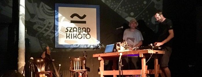 Szabadkikötő - Concert Venue & Café is one of Orsi : понравившиеся места.