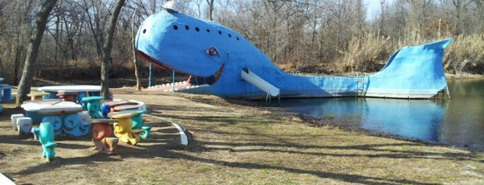 Blue Whale is one of Historic Route 66.