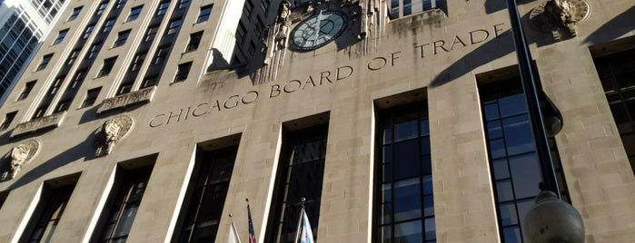 Chicago Board of Trade is one of Tempat yang Disukai Brandon.
