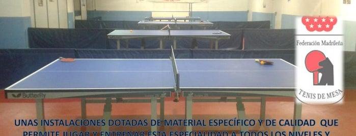Estadio de Vallecas is one of Jugar al Ping-Pong en Madrid.