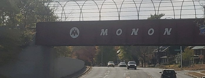 Monon Bridge over Fall Creek Pkwy is one of Jared's Liked Places.
