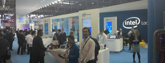 Intel MWC booth is one of Posti che sono piaciuti a Irina.
