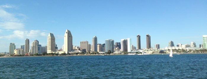 Coronado Island is one of SD.