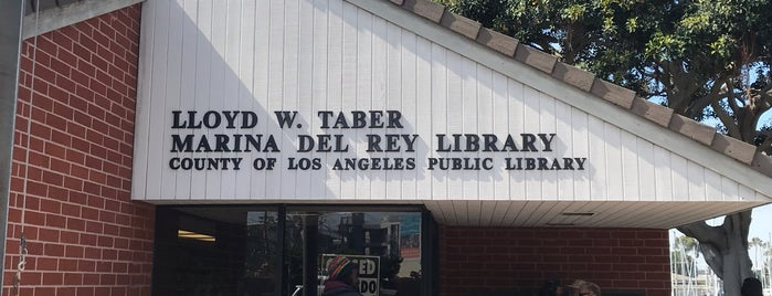 County of Los Angeles Public Library - Lloyd Taber-Marina del Rey is one of Nyv.