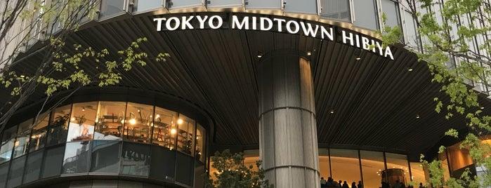 Tokyo Midtown Hibiya is one of Tokyo shopping.