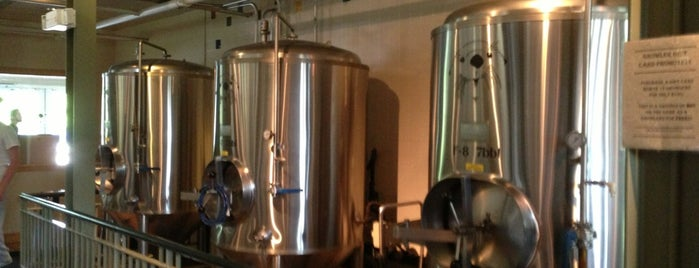 Gilded Otter Brewing Company is one of New paltz.