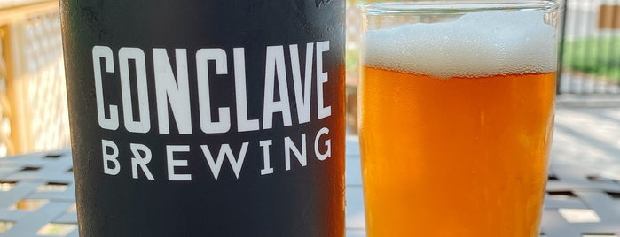 Conclave Brewing is one of NJ Clinton-Bridgewater.