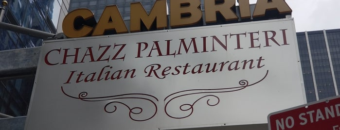 Chazz Palminteri Italian Restaurant is one of New York City.