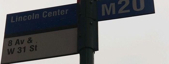 MTA Bus - 8 Av & W 31 St (M20) is one of Karen : понравившиеся места.
