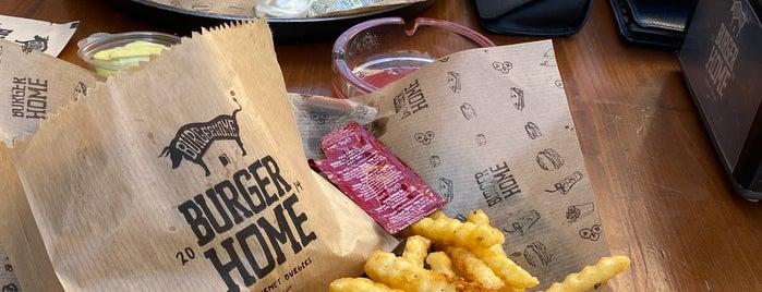 Burger Home is one of Onur 님이 좋아한 장소.