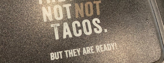 Not Not Tacos is one of Almoço Em San Diego.
