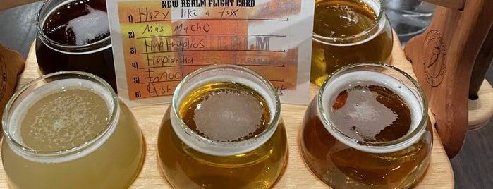 New Realm Brewing Company is one of ATL.
