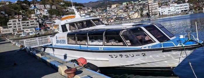 真鶴半島遊覧船 is one of 日本の白砂青松100選.